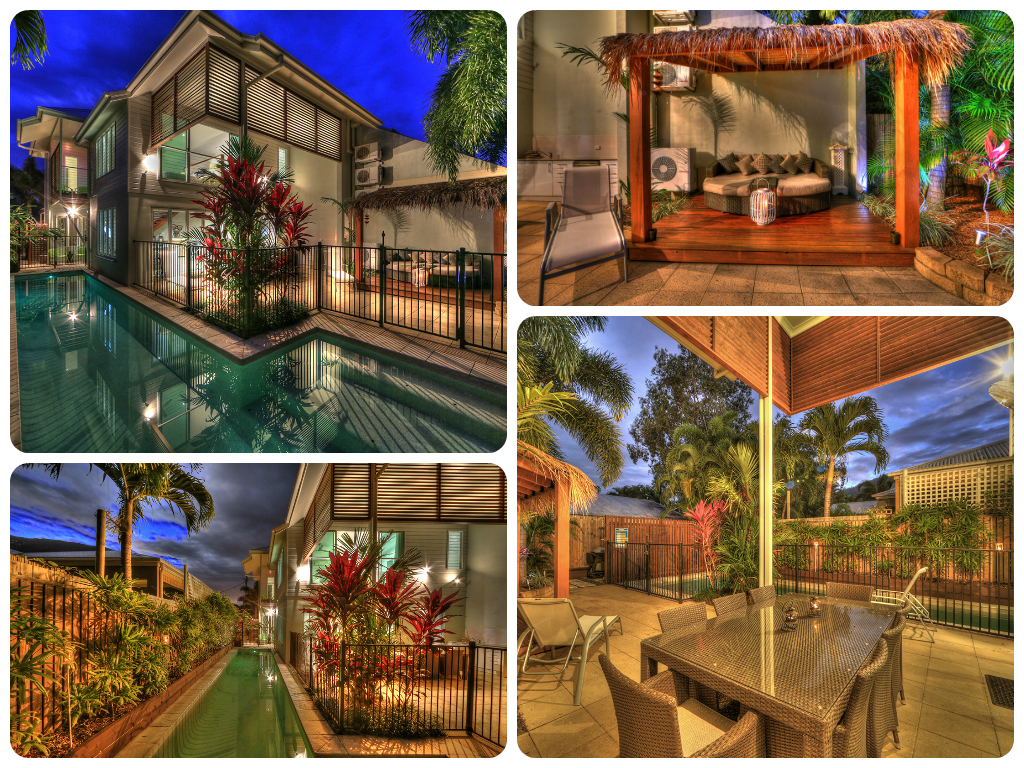 Palm Cove Beach House, Entertaining - Heated Lap Pool